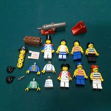 lego minifigures lot Pirates cannon hook chest parts and pieces