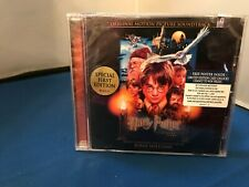 HARRY POTTER 1ST EDITION MOTION PICTURE SOUNDTRACK CD W/POSTER SEALED NEW