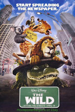 THE WILD MOVIE POSTER 2 SIDED 27x40  DISNEY ANIMATION