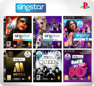 Singstar Singstore Vol 1-3 Pop Edition/Queen/Back to the 80's PS3 *Multi list*