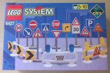 RETIRED PR. CONS. - LEGO 6427 SYSTEM SEGNALETICA STRADALE ROAD SIGNS - ULTRARARE