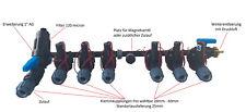 PE Rohr Kopfstation Verteiler Bewässerung 2, 3, 4, 6, 8 Hunter Magnetventile PGV