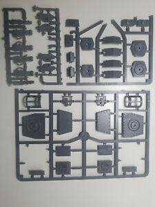 Baneblade sponsons. Complete set Astra Militarum Warhammer 40k. Upgrade sprues