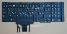 New For DELL Precision 3520 7520 7720 M7710 Keyboard Backlit Russian No Frame