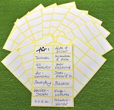 140 Tiefkühletiketten weiß Gefrieretiketten Klebeetiketten selbstklebend 48x20mm