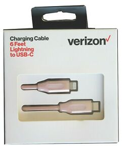 Verizon  USB-C 6FT  charging cable  for iphone 11 &12