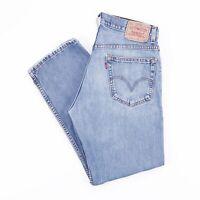 Vintage LEVI'S 505 Regular Straight Fit Men's Blue Jeans W33 30
