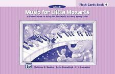 MUSIC FOR LITTLE MOZARTS FLASHCARDS: BOOK 4 Alfred Christine Barden NEW Sealed