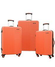 Travelers Club Basette 3-Pc. Hardside Luggage Set