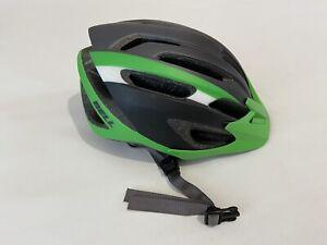 BELL ORAN-JR JUNIOR Kids Cycling Helmet Size 50-57cm Circumference Green/Black