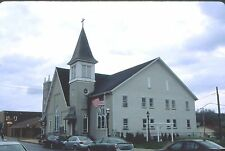 historic structures-Zion Evangelical Luth.Church @ Northampton Pa. Fuji slide