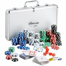 Professional Poker 300pcs 13g Chips Set With Carry Case