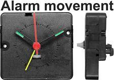 Alarm quartz clock movement mechanism 588-08, Hands, dial, repair replacement UK
