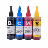 HQ CISS Refillable Ink Refill Bottles for Epson WF-2630WF WF-2650DWF WF-2660DWF