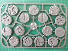 Warhammer Age Of Sigmar - 15 x 32mm Shattered Dominion bases, Base Decor