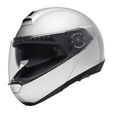Schuberth C4 Helm modular - Klapp Xl-glossy Silver