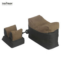 Tourbon Shooting Bench Rest Bag Target Sandbag Shotgun Rifle Rear&Front Part Set