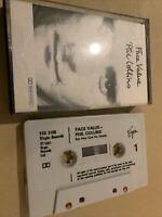 Phil Collins - Face Value -  Cassette Tape