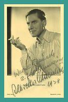 ALBRECHT SCHOENHALS | Schauspieler | Original-Autogramm auf Ross-Starpostkarte