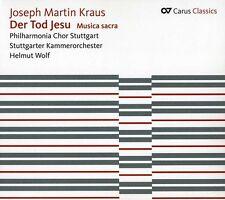 Helmut Wolf, J.M. Kr - Der Tod Jesu / Musica Sacra [New CD]