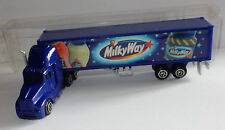 GRELL HO 1/87 CAMION SEMI TRUCK TRAILER MACK BOISSONS PATE A TARTINER MILKY WAY
