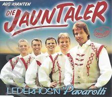 CD--DIE JAUNTALER - SINGLE -- LEDERHOS'N PAVAROTTI -4 TRACKS-
