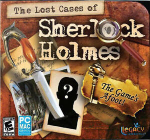 The Lost Cases of Sherlock Holmes  a lavish mystery adventure game  PC MAC  NEW