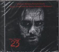 ORIGINAL SOUNDTRACK  The Number 23 HARRY GREGSON-WILLIAMS CD ALBUM  NEW / SEALED