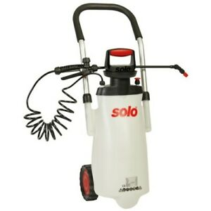 SOLO WHEELED TROLLEY SPRAYER 453 3-GALLON SPRAY ON WHEELS PULL ALONG