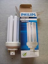 26W Energy Saving Fluorescent Lamp. PL-T . Colour: 830. 4Pin (TWO PACK). PHILIPS