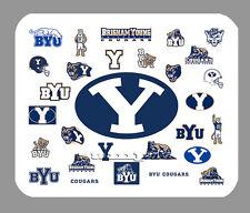 Item#4518 BYU Cougars Logo Art Mouse Pad