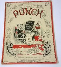 Punch Magazine Dated December 29th 1954 No 5964 Collectible Vintage