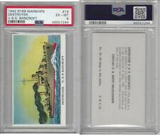 R169 Cameron Sales, Warships, 1942, #19 Destroyer, USS Bancroft, PSA 6 EXMT