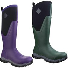 Muck Boots Arctic Sport II Tall Wellington Boots High Pull On Lined Shoes Womens