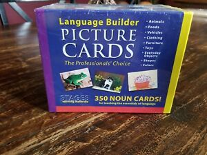 New Stages Language Builder Picture Cards 350 Noun Cards!