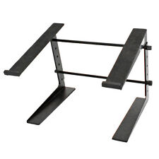 Seismic Audio Table Top or Desk Laptop Stand-Steel Rack-Laptop Keyboard Stand