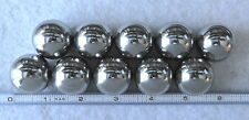 Ten 1-1/8 Inch Carbon Steel Balls Tactical Monkey Fist Cores Made in USA