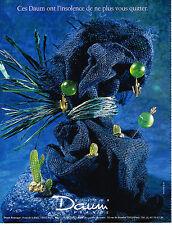 PUBLICITE ADVERTISING 024   1990   DAUM    bijoux