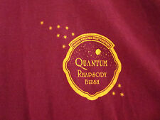 QUANTUM RHAPSODY BLUSH lrg T shirt wine stars logo white zinfandel South Africa