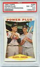 1960 TOPPS POWER PLUS COMBO #260 PSA 8.5 NM-MT PLUS NQ ONE OF ONLY 6