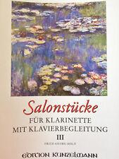 Salonstücke - für Klarinette mit Klavierbegleitung