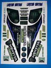 MONSTER BEETLE MONSTER CUSTOM TAMIYA HPI LOSI RC 1/10th EXTRA DECALS STICKERS