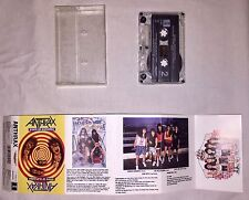Anthrax Cassette Tape State Of Euphoria  1988 Megaforce Island Records