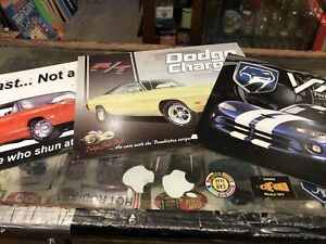 Dodge Plymouth Ex Display Signs X 3 Repro
