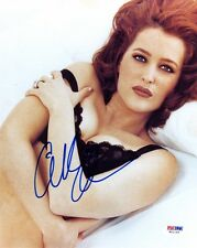 GILLIAN ANDERSON SIGNED AUTOGRAPHED 8x10 PHOTO DANA SCULLY X-FILES PSA/DNA