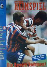 Programma BL 1995/96 SC Freiburg-il Bayern Monaco
