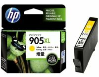 HP 905XL Genuine Ink Cartridge High Yield YELLOW - Printer Ink Expired June 2019