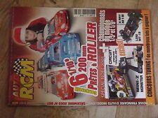 $$$ Revue Auto RCM N°267 Mini-Z MonsterX Ray M18Losi MT 181/10e 200m