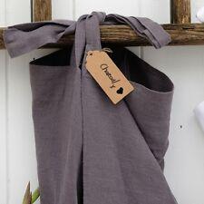 Linen Cross Back Apron, Japanese Apron, X Back Pinafore Dress. Spring Colours!