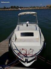 bateau pêche promenade,cause santé vend bateau pêche promenade avec remorque